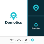 Domotics Logo - Entry #153