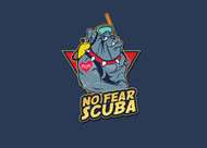 No Fear Scuba Logo - Entry #57