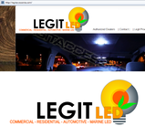 Legit LED or Legit Lighting Logo - Entry #193