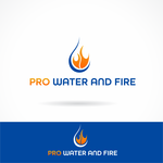 Pro Water and Fire Logo - Entry #2