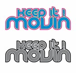 Keep It Movin Logo - Entry #87