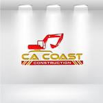 CA Coast Construction Logo - Entry #286