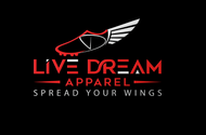 LiveDream Apparel Logo - Entry #443