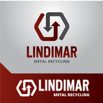 Lindimar Metal Recycling Logo - Entry #217