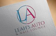 Leah's auto & nail lounge Logo - Entry #67