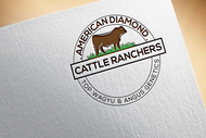 American Diamond Cattle Ranchers Logo - Entry #90
