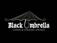 Black umbrella coffee & cocktail lounge Logo - Entry #120