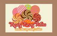 Topsey turvey tables Logo - Entry #143