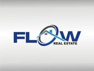 Flow Real Estate Logo - Entry #64