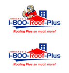 1-800-Roof-Plus Logo - Entry #138