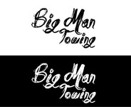 Big Man Towing Logo - Entry #58