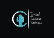 Twisted Turquoise Boutique Logo - Entry #26