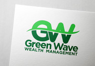 Green Wave Wealth Management Logo - Entry #15