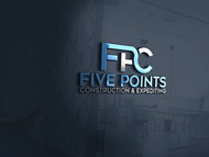 Five Points Construction & Expediting Logo - Entry #9