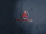 ellie's essence candle co. Logo - Entry #37