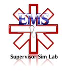 EMS Supervisor Sim Lab Logo - Entry #172