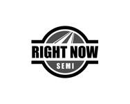 Right Now Semi Logo - Entry #4