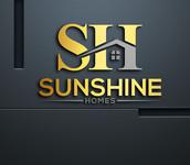 Sunshine Homes Logo - Entry #318