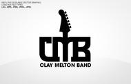 Clay Melton Band Logo - Entry #83