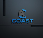 CA Coast Construction Logo - Entry #171