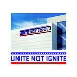 Unite not Ignite Logo - Entry #182