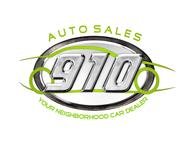 910 Auto Sales Logo - Entry #7