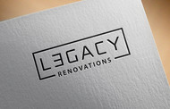 LEGACY RENOVATIONS Logo - Entry #194