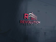 Revolution Fence Co. Logo - Entry #158