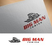 Big Man Towing Logo - Entry #84