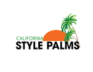 California Style Palms Logo - Entry #9