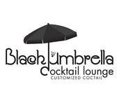 Black umbrella coffee & cocktail lounge Logo - Entry #202