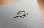 Revolution Roofing Logo - Entry #589