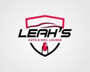Leah's auto & nail lounge Logo - Entry #169
