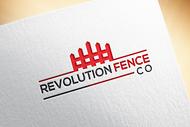 Revolution Fence Co. Logo - Entry #259