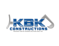 KBK constructions Logo - Entry #130