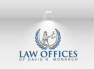 Law Offices of David R. Monarch Logo - Entry #50