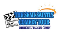 The Semi-Saintly Comedy Tour Logo - Entry #26