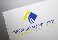 "Open Road Wealth Services, LLC  (The ""LLC"" can be dropped for design purposes.) Logo - Entry #77"