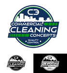 Commercial Cleaning Concepts Logo - Entry #29
