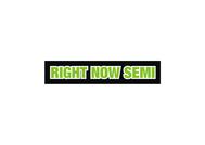 Right Now Semi Logo - Entry #172