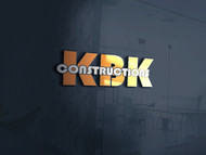 KBK constructions Logo - Entry #32