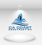 CA Coast Construction Logo - Entry #239