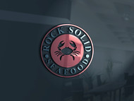 Rock Solid Seafood Logo - Entry #60