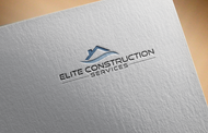 Elite Construction Services or ECS Logo - Entry #42
