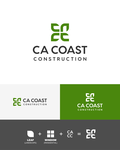 CA Coast Construction Logo - Entry #248