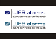 Logo for WebAlarms - Alert services on the web - Entry #144