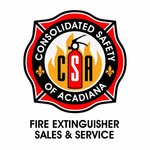 Consolidated Safety of Acadiana / Fire Extinguisher Sales & Service Logo - Entry #54