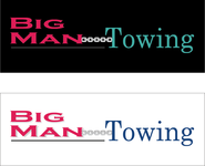 Big Man Towing Logo - Entry #109
