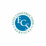 Elite Construction Services or ECS Logo - Entry #294