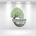 ALLRED WEALTH MANAGEMENT Logo - Entry #554